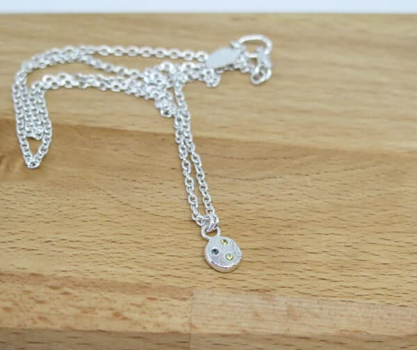 sapphire-gemstone-sterling-silver-necklace-by-germanoarts-by-Germano Arts