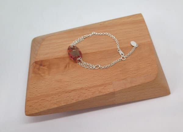 swarovski-crystal-sterling-silver-bracelet-by-Germano Arts