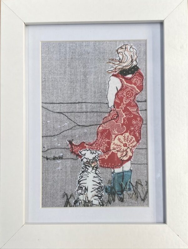 shepherdess-framed-artwork-print-by-juliet-d-collins-by-julietdcollins