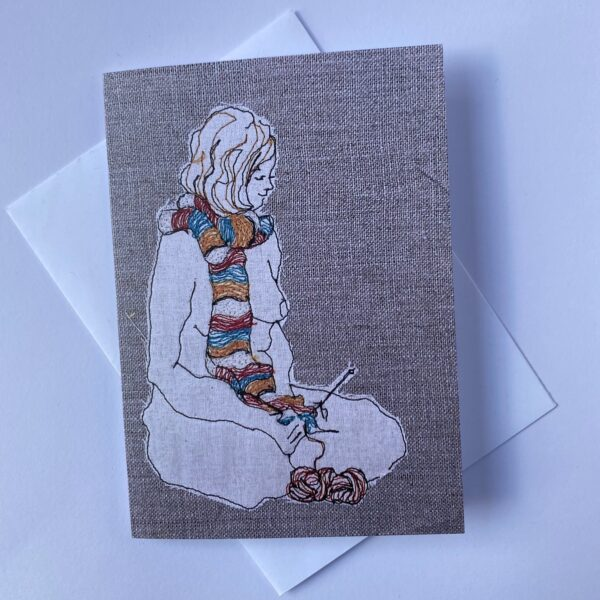 the-knitter-greeting-card-by-juliet-d-collins-by-julietdcollins