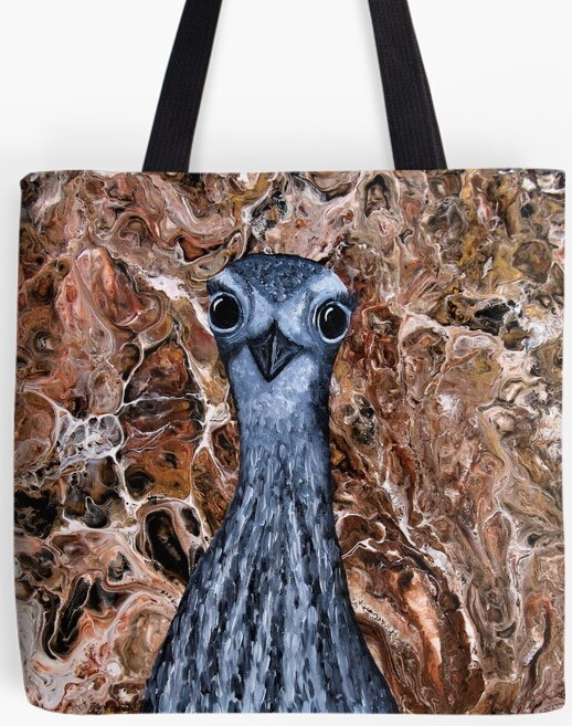 Curlew Tote Bag By Gem's Artistic Creations