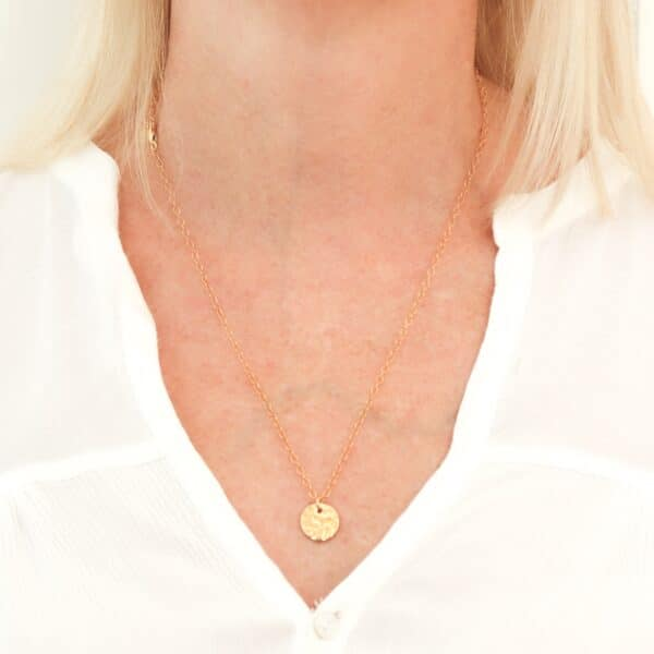 impressions-medium-gold-disc-pendant-necklace-by-juliestephens