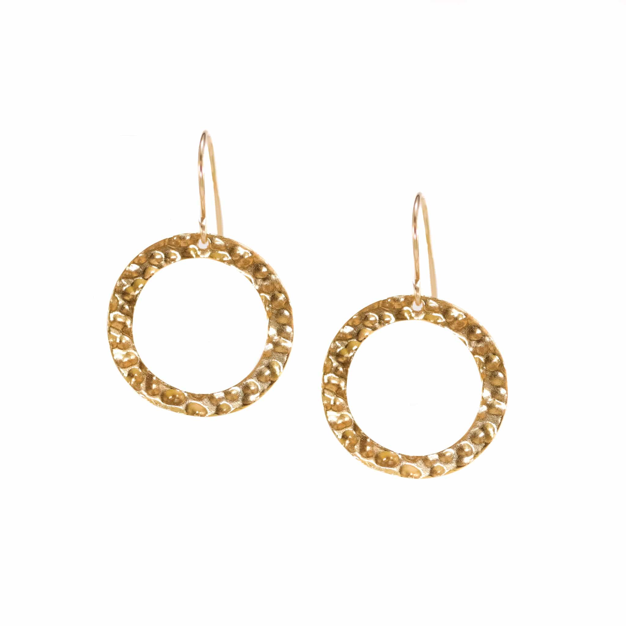 Impressions Round Gold Hoop Earrings