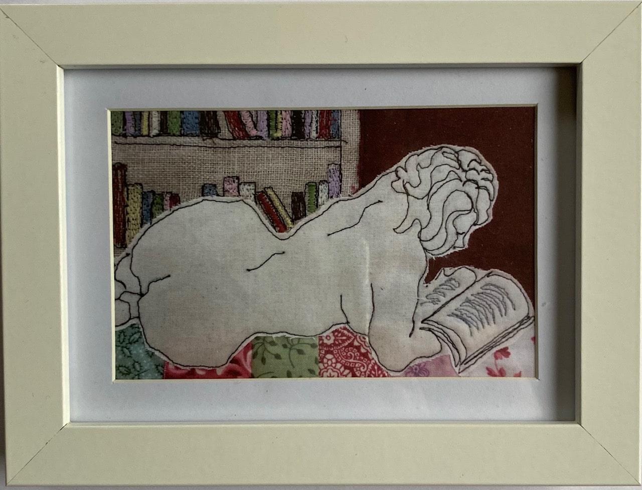 Booklover Artwork Print By Juliet D Collins