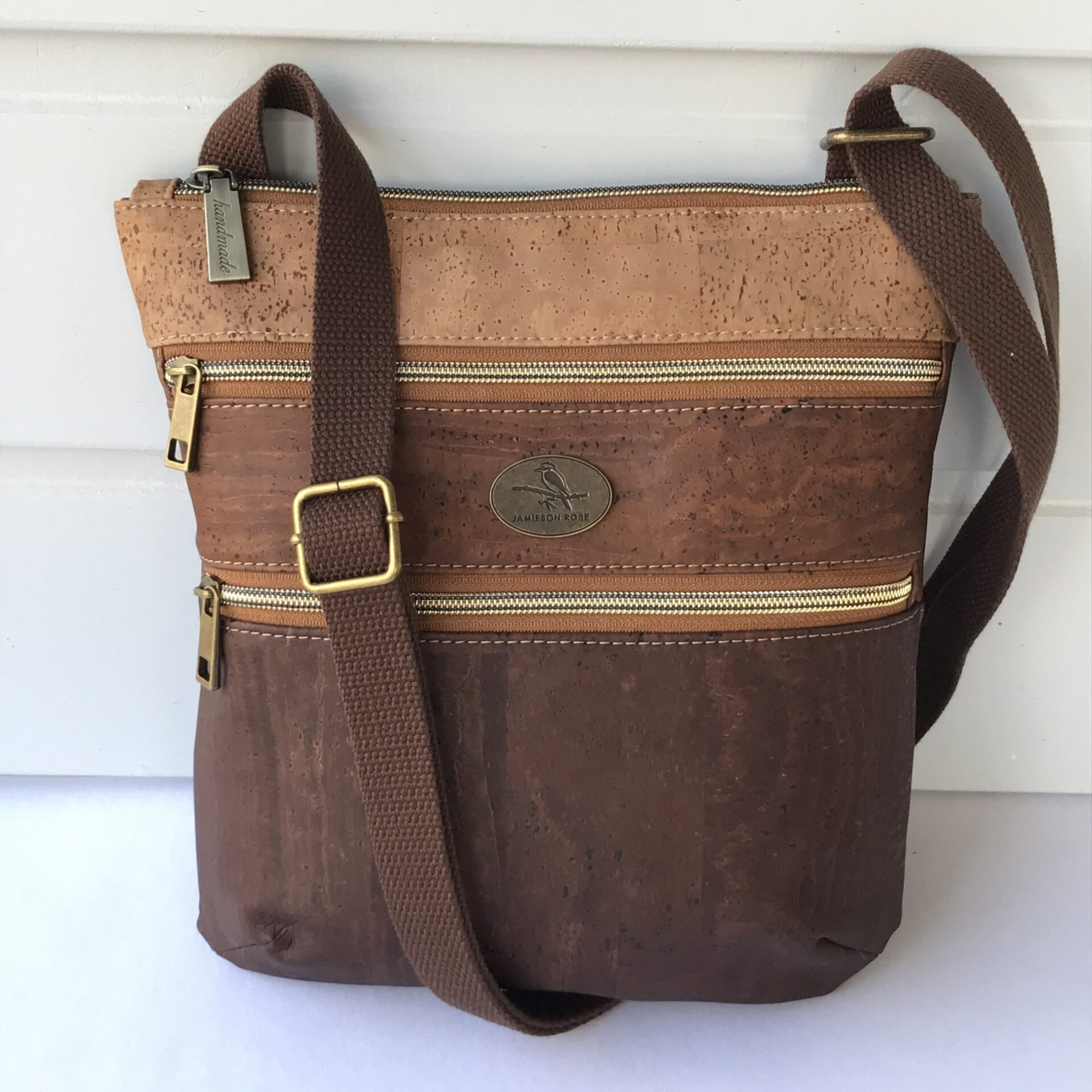 Eldorado-Triple-Zip-Crossbody-Bag-3Tone-Brown-jamieson rose