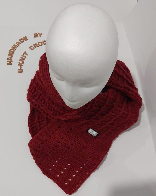 rosy-wool-scarf-handmade-by-u-knit-crochet Ivy 048514