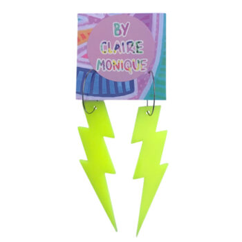 neon-yellow-acrylic-lightning-bolt-earrings-by-claire-monique-by-byclairemonique