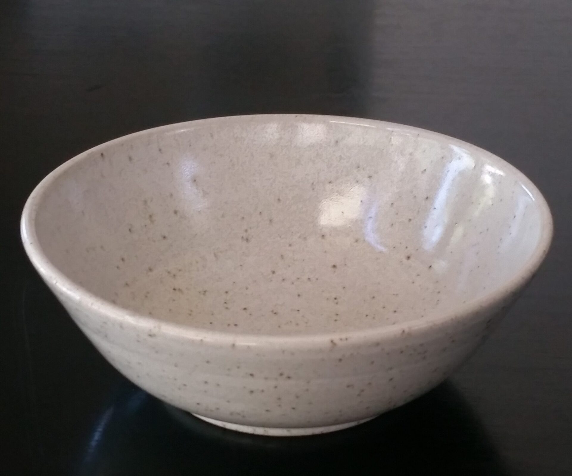 Dinner-sized Stoneware Bowl By Clifton Hill Pottery