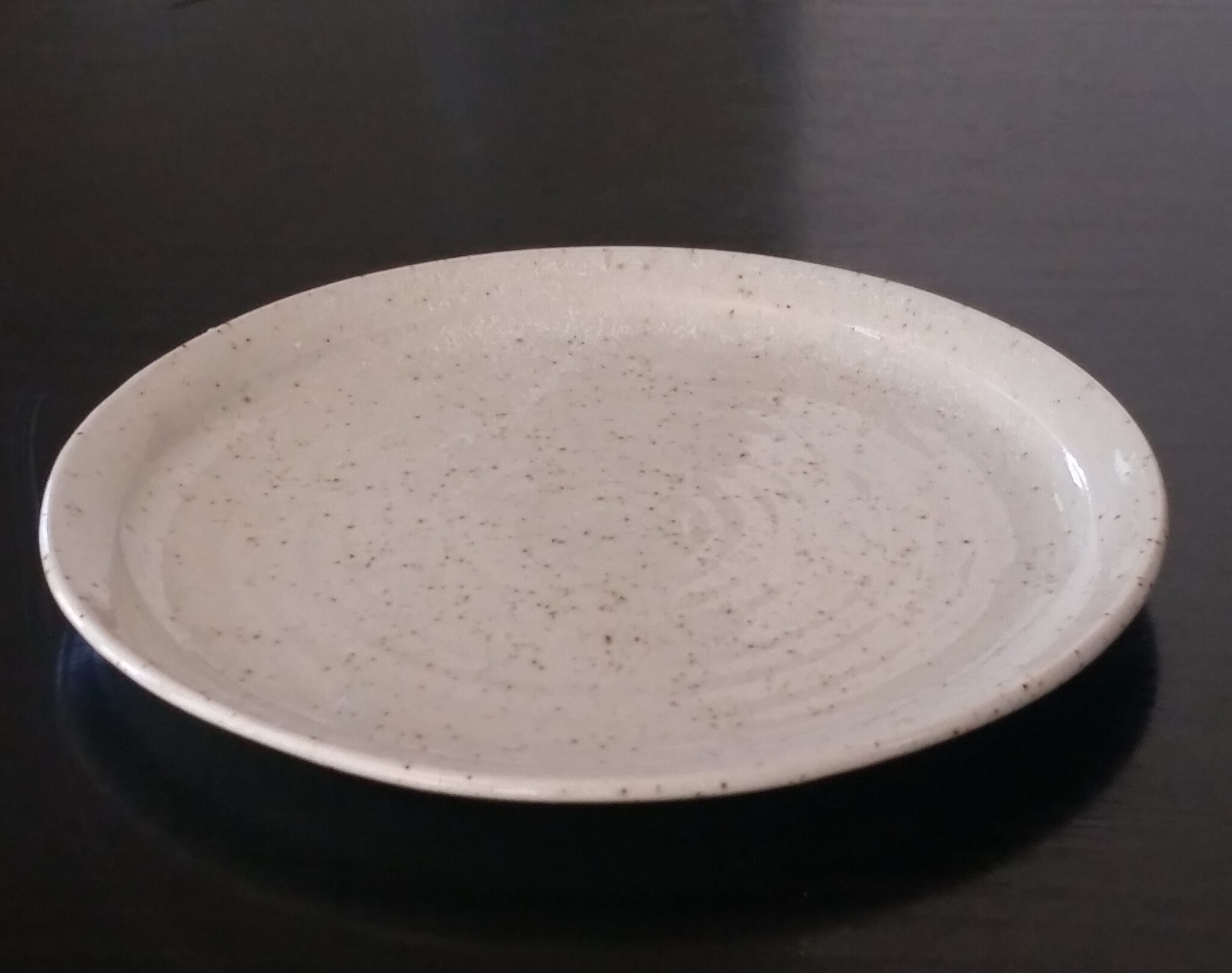 Stoneware Entrée Or Side Plate By Clifton Hill Pottery