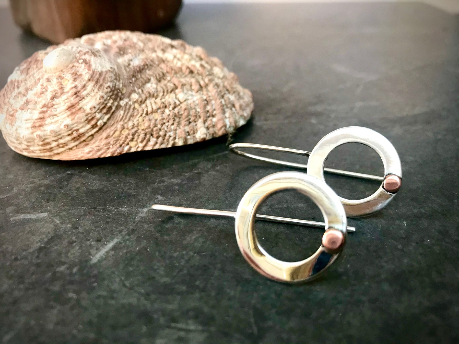 Circle Of Life Earrings By The Silver Goose