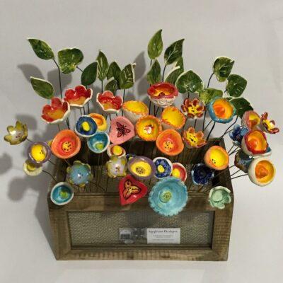 ceramic flowers iggiruss designs