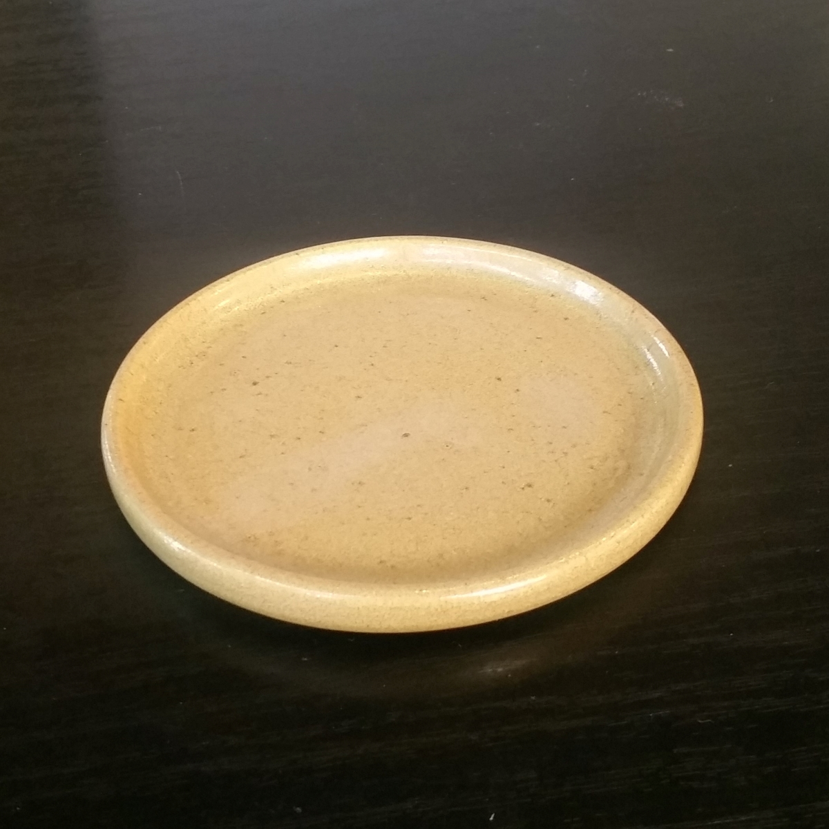 tapas-plate-saucer-by-clifton-hill-pottery-by-Clifton Hill Pottery