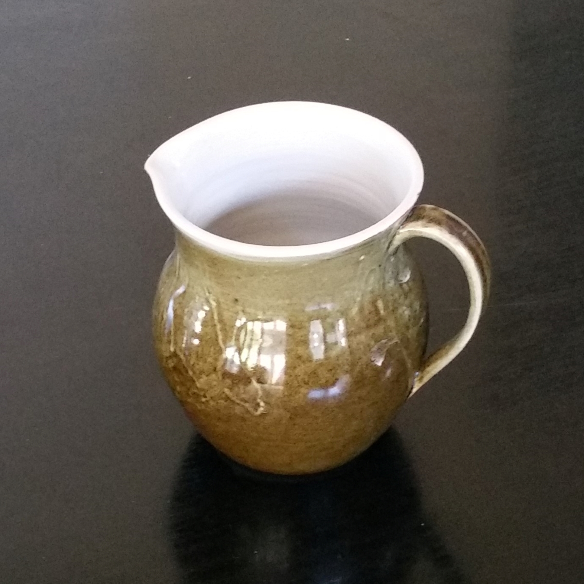 Stoneware Jug By Clifton Hill Pottery
