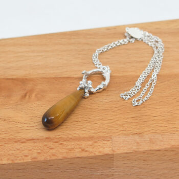 tigers-eye-sterling-silver-necklace-by-germanoarts-by-Germano Arts
