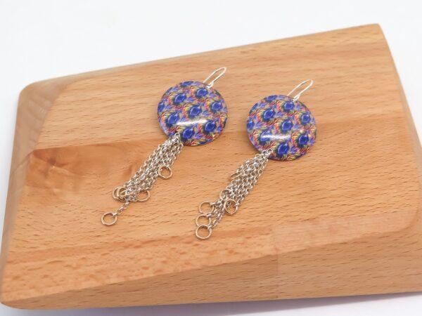 banksia-frond-sterling-silver-earrings-by-germanoarts-by-Germano Arts