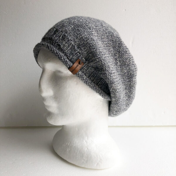 100-wool-grey-and-white-knit-women-slouchy-beanie-with-roll-up-brim-by-siennaknits-by-siennaknits