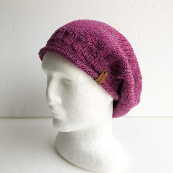 100-wool-purple-knit-women-slouchy-beanie-with-roll-up-brim-by-siennaknits-by-siennaknits