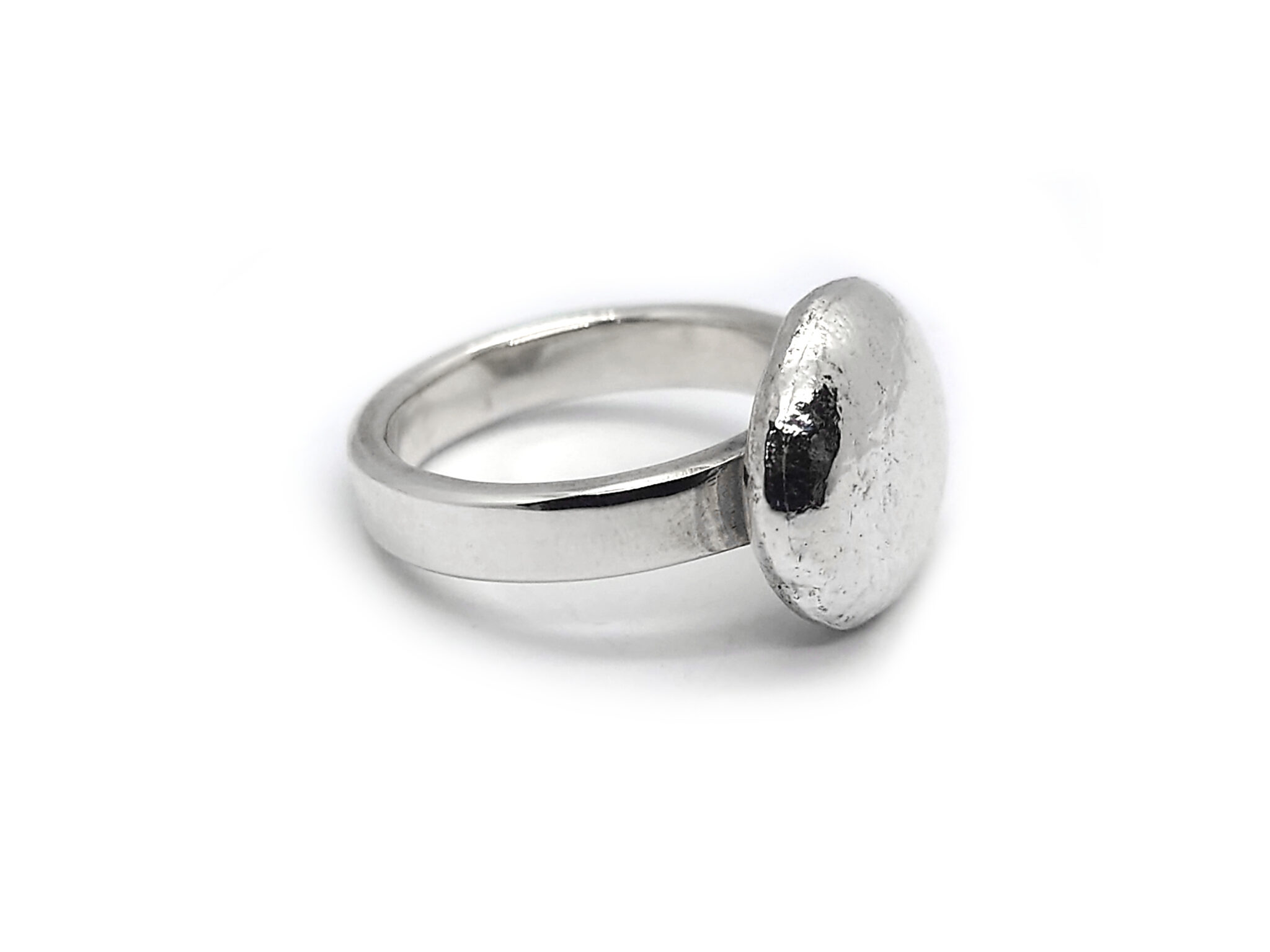 Bud Sterling Silver Ring By R-Process