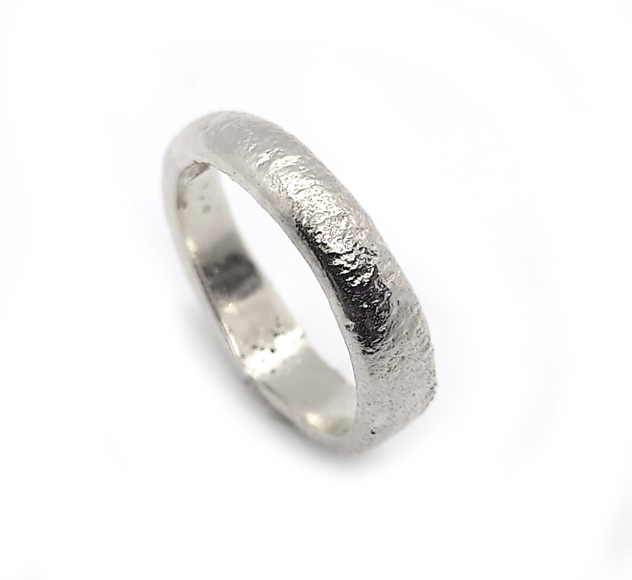 Melt Wider Sterling Silver Ring Size N By R-Process