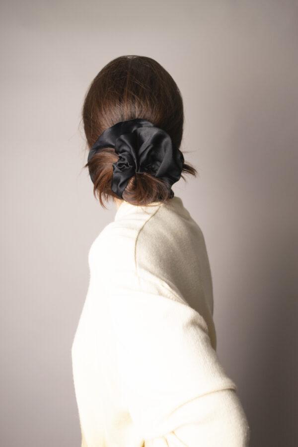 mega-silk-scrunchie-in-black-by-gliese-504-by-gliese504