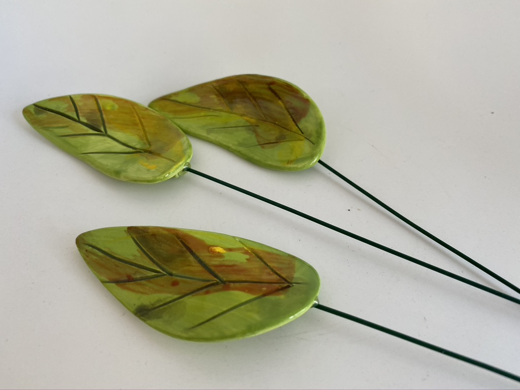 Ceramic Leaves By Iggiruss Designs
