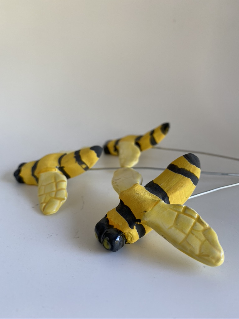 Ceramic Bees By Iggiruss Designs