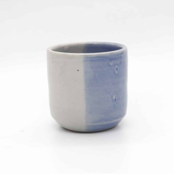 beaker-with-blue-glaze-by-clifton-hill-pottery-by-Clifton Hill Pottery