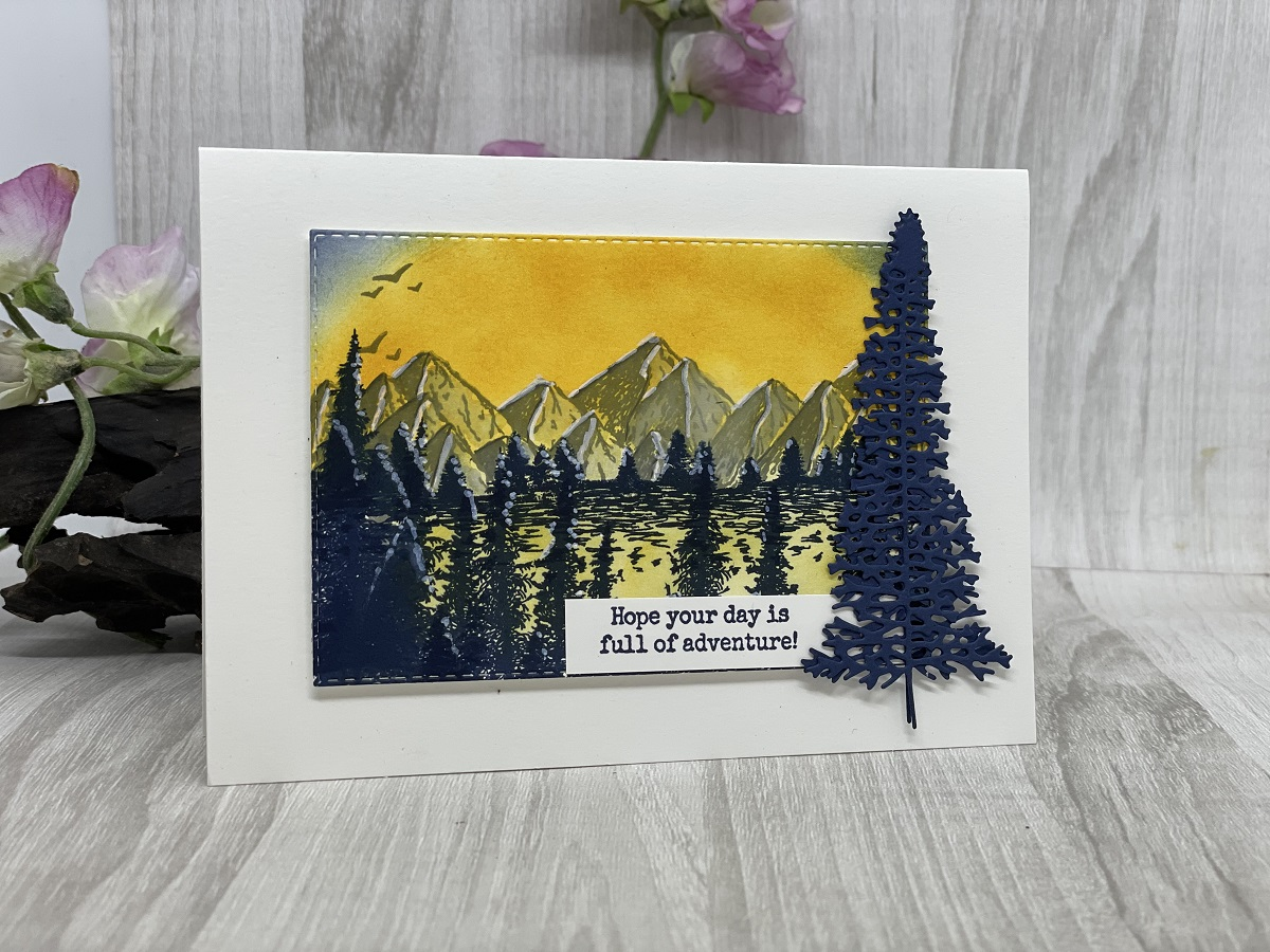 Full Of Adventure Greeting Card By KO Kreations