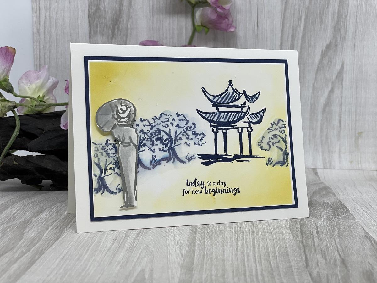 New Beginnings Greeting Card By KO Kreations