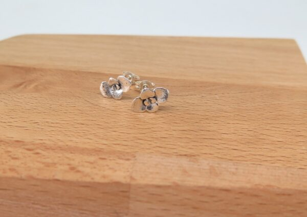 circle-sterling-silver-studs-by-germanoarts-by-Germano Arts