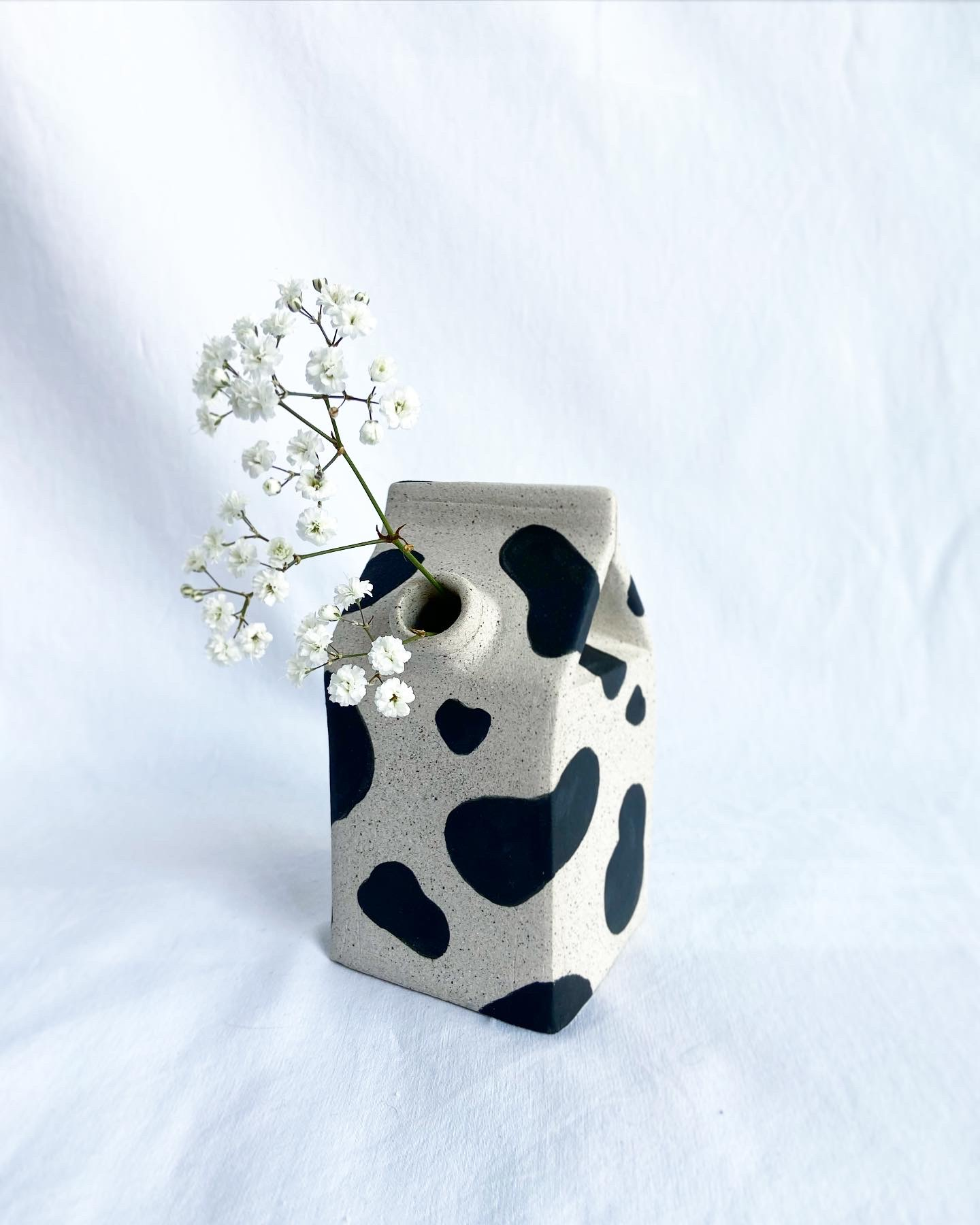 Moo Carton Vase By Kya Biant (Home Exhibition)