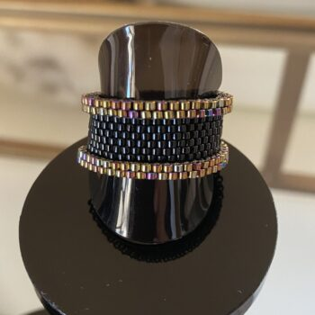 japanese-seed-bead-handwoven-ring-black-and-rose-gold-accents-size-us-9-by-covet-and-desire-by-covetanddesire