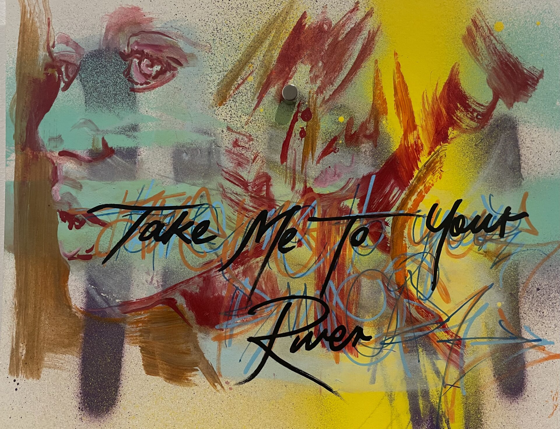 Take Me To Your River By Skye O'Shea, Rebecca Brennan, Kristian Stock Showing In Works On Paper