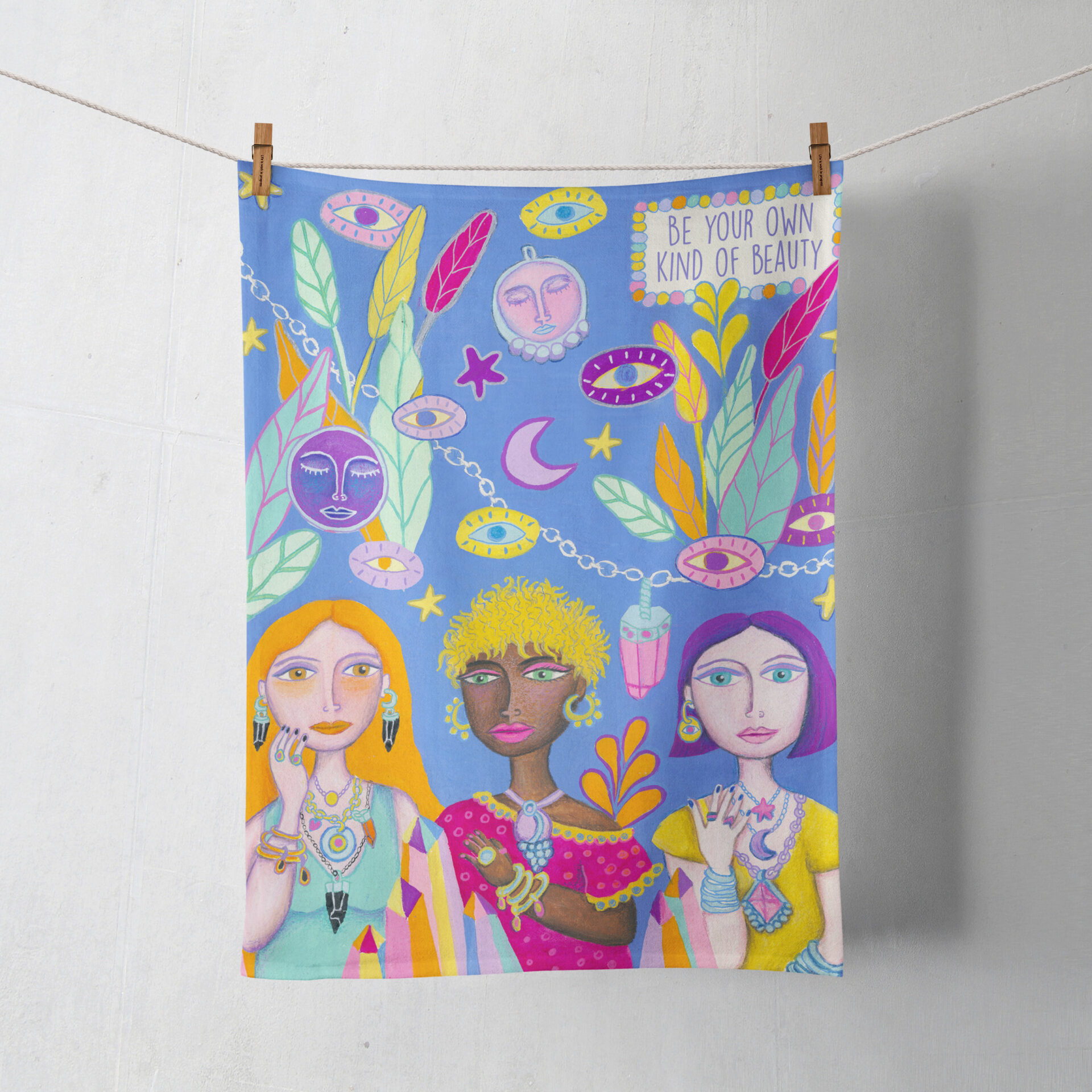 Women Tea Towel By Lime And Lemon