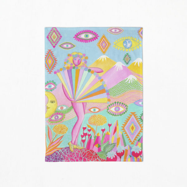 lucy-in-the-sky-tea-towel-by-Lime and Lemon
