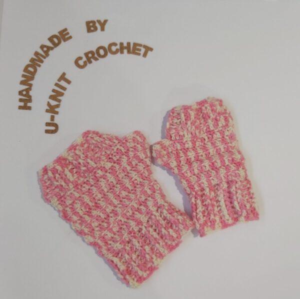 Parent + Kid Mittens Handmade by U-Knit Crochet U-Knit Crochet (online only)