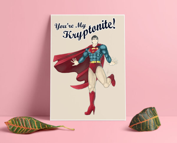 youre-my-kryptonite-superman-pin-up-print-by-enixy-by-Enixy