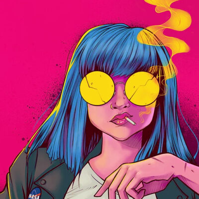 pop culture illustrations by enixy