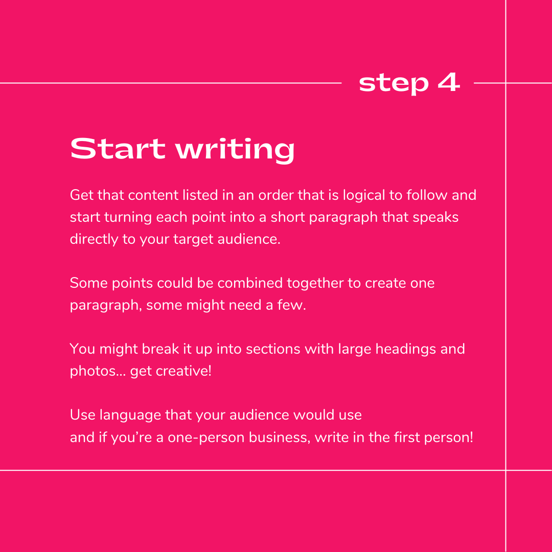 How to write an ABOUT US page for your handmade brand