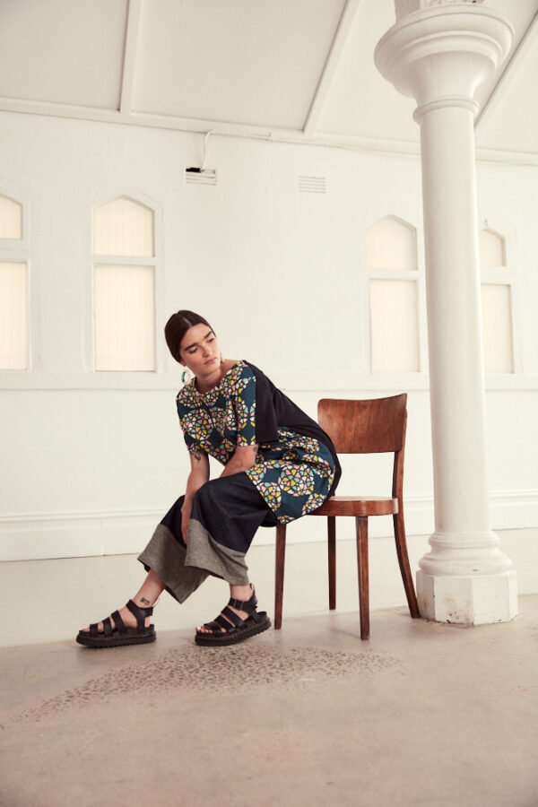 linencotton-cocoon-style-dress-in-a-colourful-kaleidoscope-print-by-ana-williams-by-anawilliamspatterns