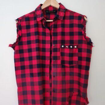 i-am-a-rockstar-tartan-sleeveless-shirt-by-being-benign-by-beingbenign