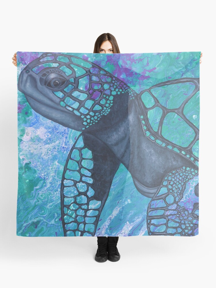 Turtle Scarf By Gem's Artistic Creations