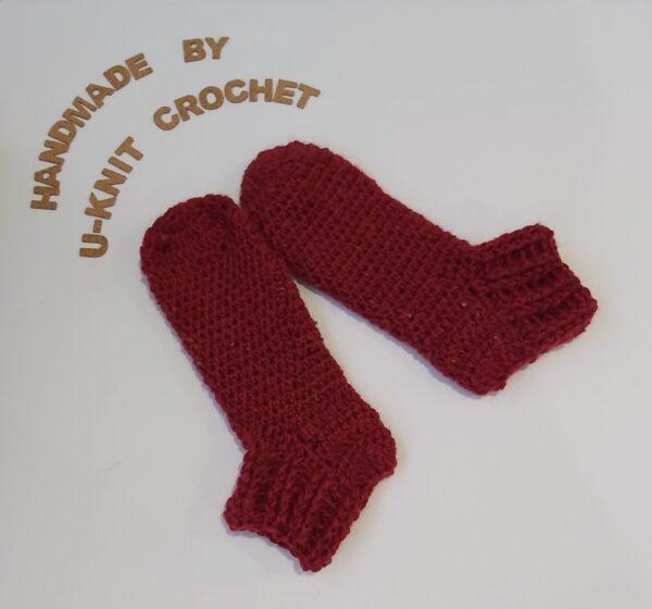 dark-red-home-slipper-socks-handmade-by-u-knit-crochet-by-Ivy