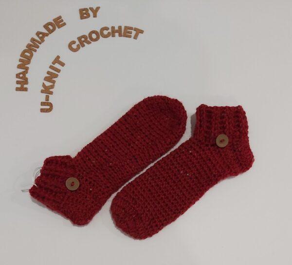 dark-red-home-socks-handmade-by-u-knit-crochet-by-Ivy