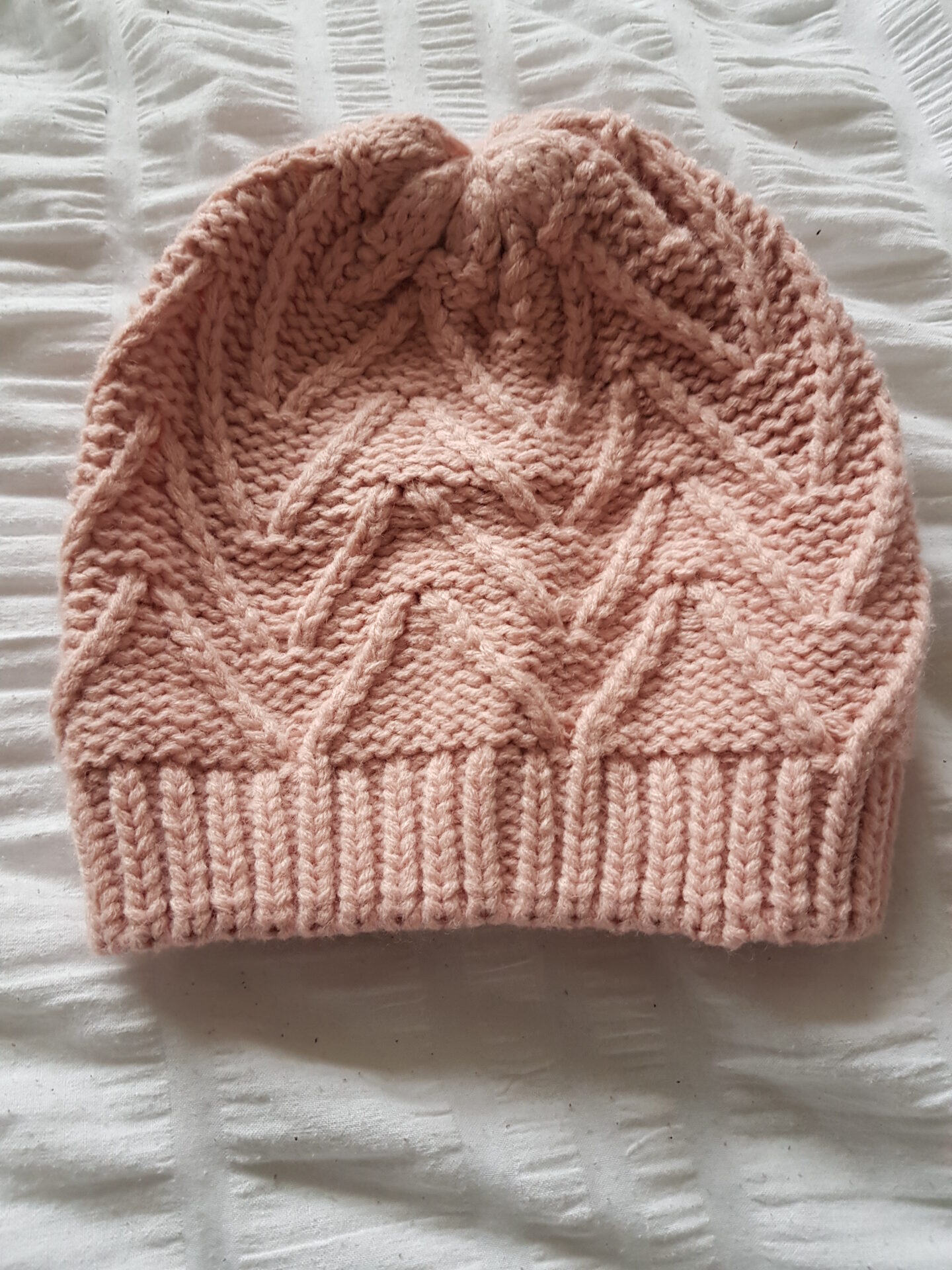 Knitted Beanie By Bubbles And Gifts