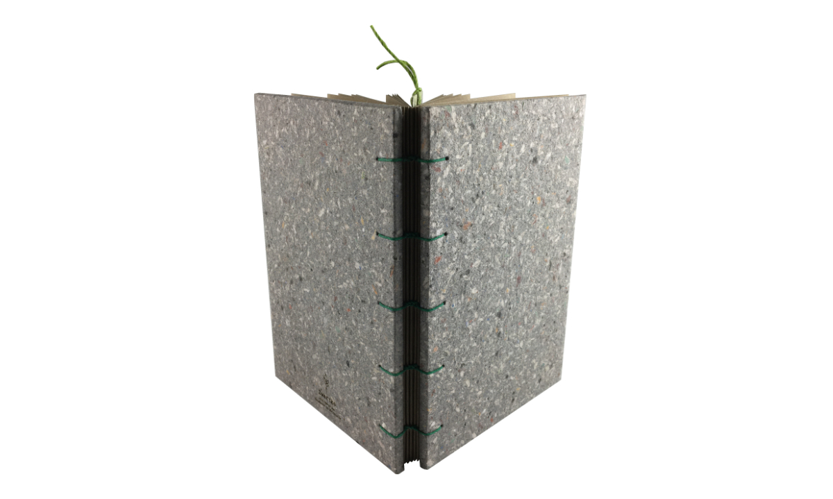 """Blackberry Beauty"" A5 Handmade Paper Journal by Zwartko Zwartko (Fitzroy)"