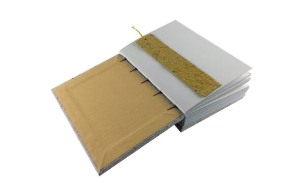 """""""Coloured Confetti"""" A5 Handmade Paper Journal by Zwartko Zwartko (Fitzroy)"""