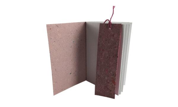 """""""Pretty in Pink"""" Handmade Paper Softcover by Zwartko Zwartko (Fitzroy)"""
