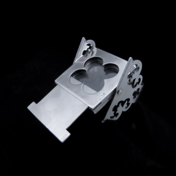 labyrinth silver poison ring by skadi jewellery design