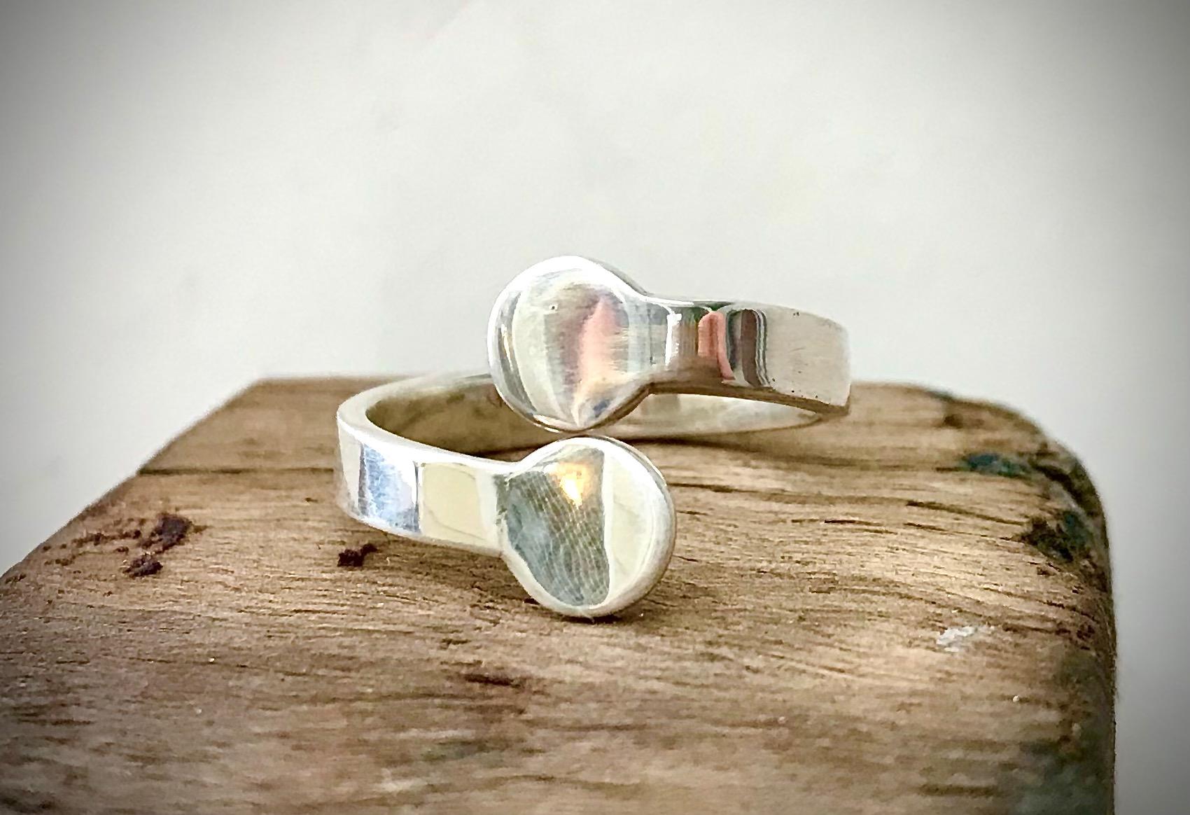 Silver dot ring by the Silver Goose The Silver Goose (Prahran)